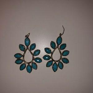 Kendra Scott Nyla turquoise earrings